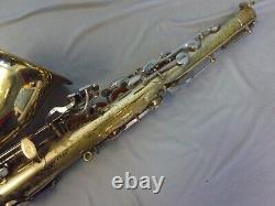 Vintage Selmer Bundy II USA Tenor Saxophone + Case