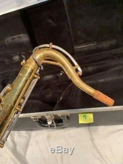 Vintage Selmer Bundy Tenor Saxophone Parts or Repair With Case