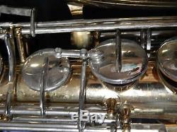 Vintage Selmer Bundy Tenor Saxophone Serial # 1019541 with Hard Carry Case