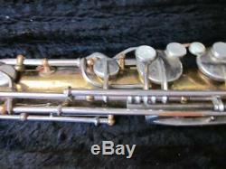 Vintage Selmer Tenor Sax withmouthpiece & hard CASE AS-IS Made in the USA