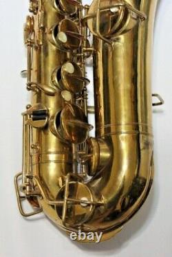 Vintage Tenor Saxophone Martin Troubadour 1931-932 Elkhart Fresh Refurb with Case