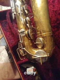 Vintage The Indiana By Martin Tenor Saxophone with Case