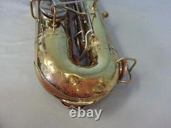 Vintage The Martin Imperial Tenor Saxophone Elkhart-indiana U. S. A. For Parts