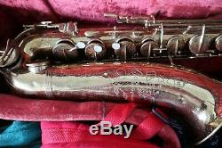Vintage The Martin Medalist Tenor Saxophone with case