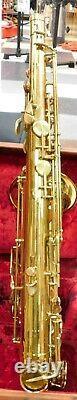 Vintage The Martin Tenor Saxophone with Original Hardshell Case