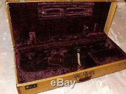 Vintage Tweed Traypak Combination Flute/Clarinet Tenor Saxophone Case, Nice