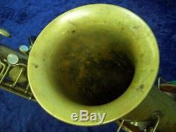 Vintage'the Buescher' True Tone Low Pitch Tenor Saxophone + Buescher Case