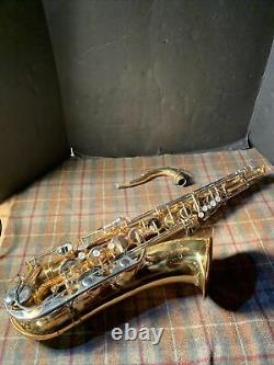 Vito Tenor Sax Saxophone Japan Made Used Instrument Needs Cleaning No Case