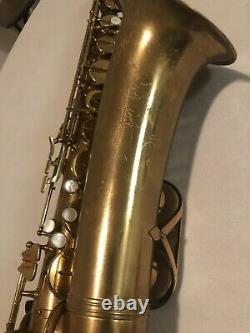 Vito Tenor Saxophone Overhauled By Ted Nash Comes With Yamaha Custom Z Case