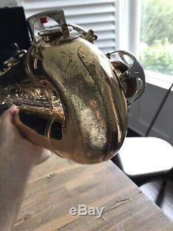Vito Tenor Saxophone With Case + Mouthpiece (YTS-23) Nice Sax