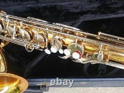 Vito tenor sax Just repaired all new pads and corks