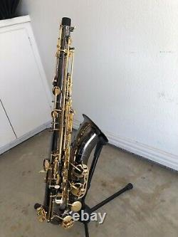 Woodwind & Brasswind Tenor Saxophone with Case and stand
