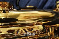YAMAHA Tenor Saxophone Sax YTS-62 Used With Hard Case Mouse Piece Ex++
