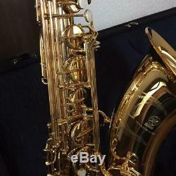 YAMAHA Tenor Saxophone Sax YTS-62 With Hard Case Box Overhauled Tested Ex++ Used