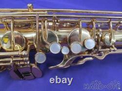 YAMAHA Tenor Saxophone YTS-61 WithHard Case Maintained Tested Working Used