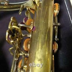 YAMAHA Tenor Saxophone YTS-61 WithHard Case Mouthpiece Used
