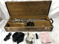 YAMAHA YTS-21 S2 TENOR SAXOPHONE SERIAL# 009510A Case Strap
