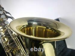 YAMAHA YTS-23 TENOR SAXOPHONE+ Hard Case, Mouthpiece, Soft case + extra reeds