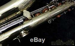 YAMAHA YTS-23 TENOR SAX SAXOPHONE With Hard Case Overhauled Tested Used