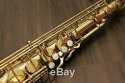 YAMAHA YTS-61 YTS61 Tenor Saxophone Sax Serviced Overhauled Tested WithHard Case