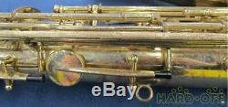YAMAHA YTS-61 YTS61 Tenor Saxophone Sax Serviced Tested Used WithHard Case