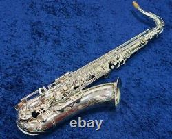 YAMAHA YTS-62S Bb Tenor Sax Saxophone Silver Plated with Case EMS Tracking NEW