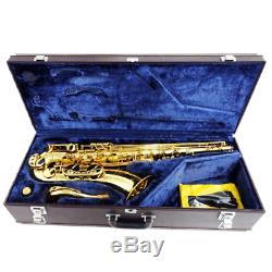 YAMAHA YTS-62 Tenor Sax Saxophone Bb With Hard Case YTS62 Tested Used 1-939