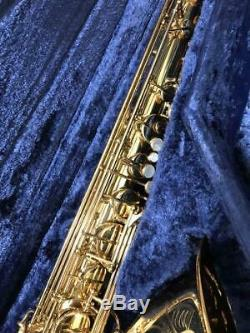 YAMAHA YTS-62 Tenor Sax Saxophone Professional Model Tested Used WithHard Case Bag