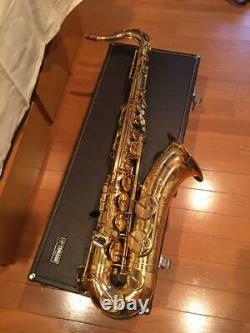 YAMAHA YTS-62 Tenor Saxophone Hand Engraved Hard Case Gold Made in Japan