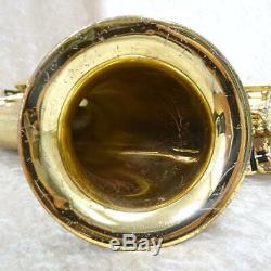 YAMAHA YTS-62 YTS62 Tenor Bb Sax Saxophone Serviced Tested Used WithHard Case