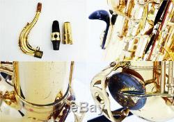 YAMAHA YTS-62 YTS62 Tenor Sax Saxophone Bb Tested Used With Hard Case
