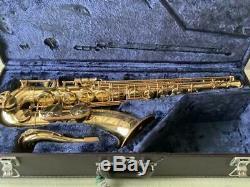YAMAHA YTS-62 YTS62 Tenor Sax Saxophone Tested Used WithHard Case G3 Neck