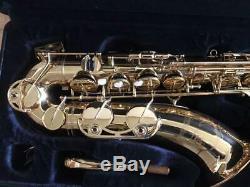 YAMAHA YTS-62 YTS62 Tenor Saxophone Sax with Hard Case Tested Used Ex++