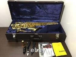 YAMAHA YTS-62 with Hard Case Used, Good Appearance Not Tested, as is Free Ship