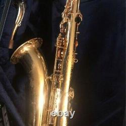 Yamaha 62 Tenor saxophone fully adjusted and ready to play