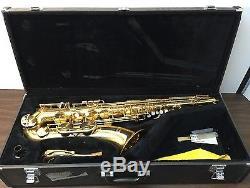 Yamaha Advantage TS1 Tenor Saxophone with Case