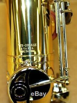 Yamaha Advantage YTS 200ADII Tenor Saxophone Nice Condition With Original Case