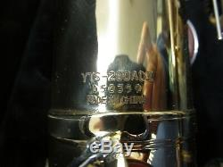 Yamaha Advantage YTS-200AD II Tenor Saxophone with Original Hard Case & Mouthpiece