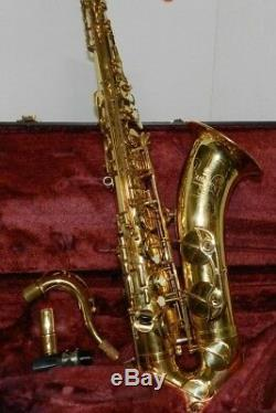 Yamaha Allegro Tenor Saxophone YTS-575AL 225285, Made in Japan, withhard case