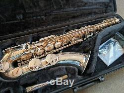 Yamaha Bb Tenor Saxophone / Sax YTS-480S, with case and stand