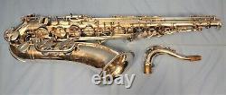 Yamaha Custom EXS Tenor Saxophone #C76777. Silver Plated Beauty. Plays Great