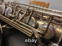 Yamaha Custom Z Tenor Saxophone (silver plated)