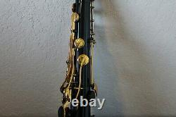 Yamaha Custom Z black lacquer YTS-82Z II B tenor