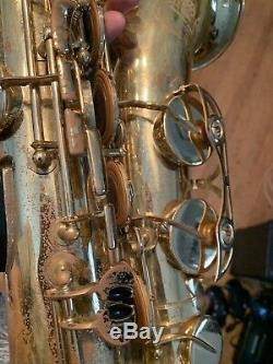 Yamaha Tenor Sax YTS-475 With Case & Mouthpiece Made In Japan Saxophone