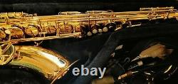 Yamaha Tenor Sax YTS-62 gold tone mint condition with case