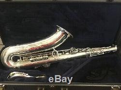 Yamaha Tenor Saxophone Custom Z YTS YTS82-Z in SILVER With Case