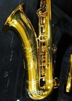 Yamaha Tenor Saxophone YTS-62 & Case Beautiful Condition Just Serviced