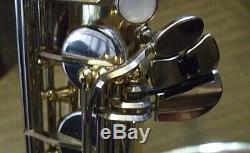Yamaha YTS25 tenor saxophone in hard shell case