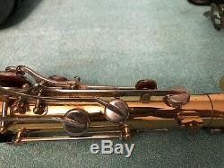 Yamaha YTS-200AD II Student Tenor Saxophone + Yamaha 4C Mouthpiece & Case