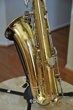 Yamaha YTS-21 Tenor Saxophone New Pads, Ready To Play, Perfectly Clean